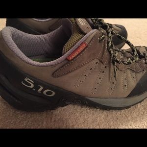 1c1e8ee3f1f 5.10 Hiking shoes with Superfeet Inserts size 11